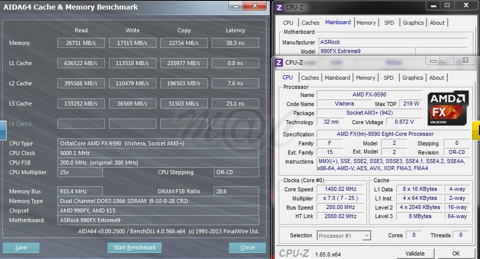 Amd Fx 9590 5 Ghz Processor Benchmarks Surface Great Performance At A Price Techpowerup