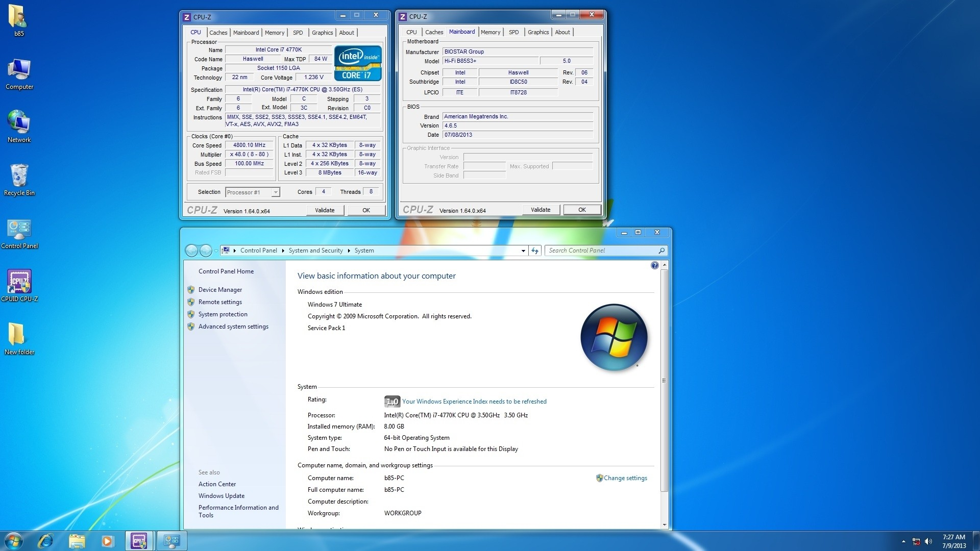 Biostar Announces BIOS Updates Enabling Overclocking on H87