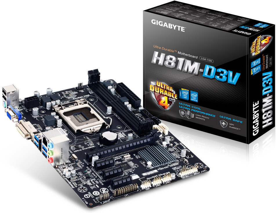 GIGABYTE Announces its First Intel H81 Chipset Motherboards