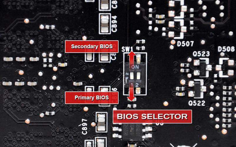 EVGA Also Announces Double-BIOS Graphics Cards | TechPowerUp