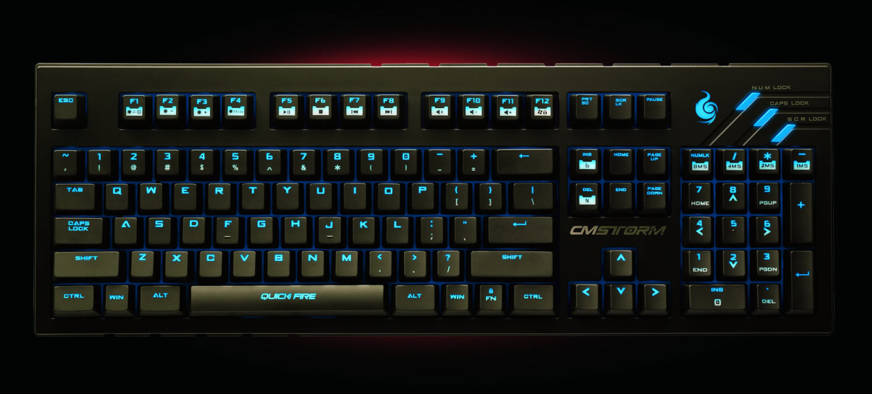 7bedd69f3ad Cooler Master Introduces the CM Storm QuickFire Ultimate Gaming Keyboard