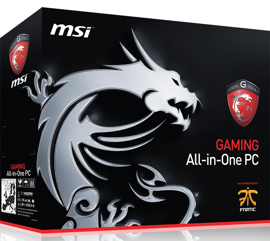 MSI AG2712A Gaming All-in-One Desktop Launched | TechPowerUp