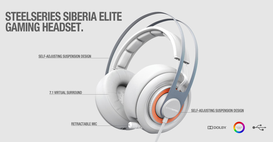 STEELSERIES SIBERIA ELITE HEADSET AUDIO DRIVER PC