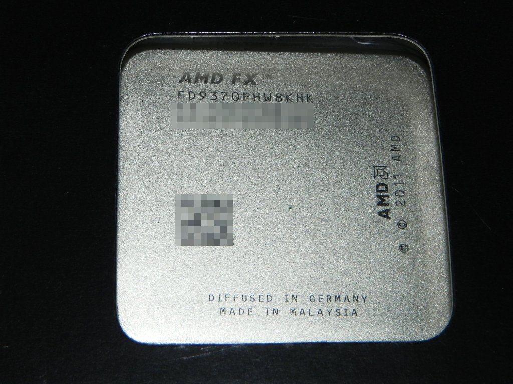 AMD FX-Series FX-9370 FX 9370 4.4 GHz Eight-Core 220W CPU Processor FD9370FHW8KHK Socket AM3+