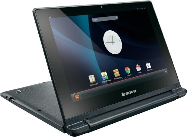 Lenovo Launches its First Android Laptop, the IdeaPad A10