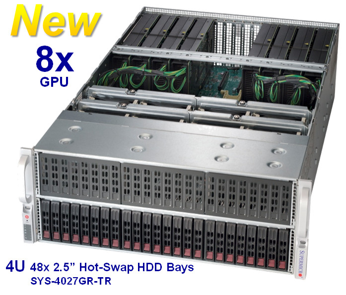 Supermicro Debuts 8x GPU SuperServer Optimized for the