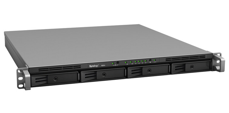 Synology Launches The Rackstation Rs814 Nas Server