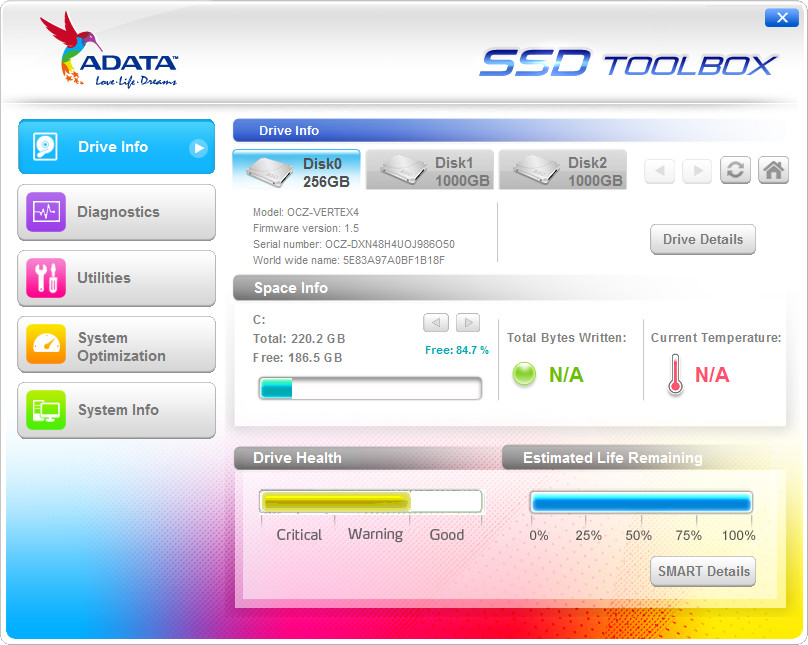 Adata Technology Releases Ssd Toolbox Software Techpowerup