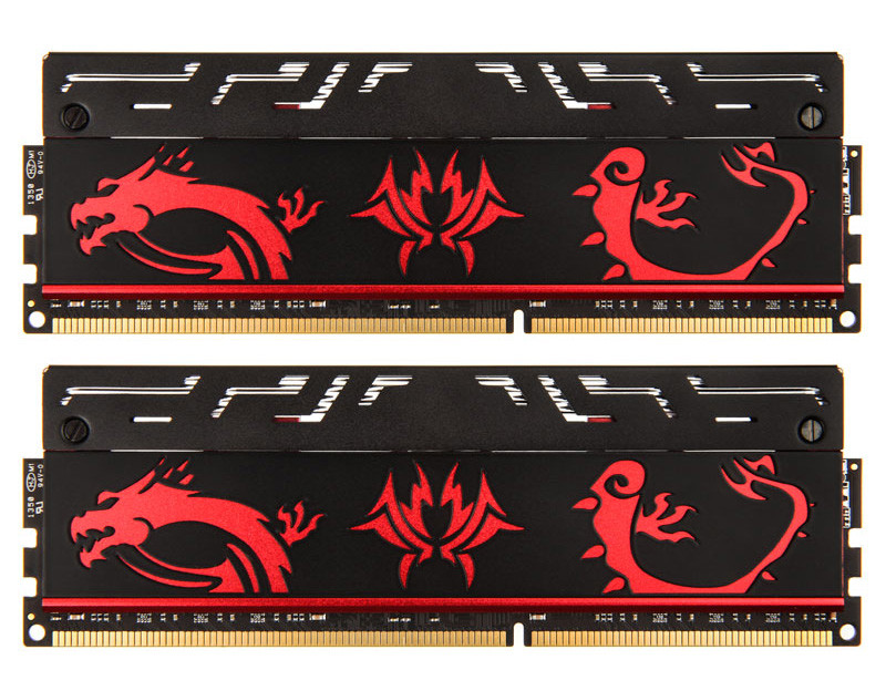 Avexir Blitz Red Dragon 1 1 Memory Series Now Available