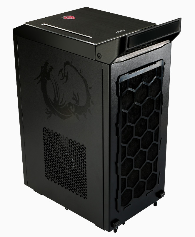 msi unveils the nightblade gaming barebone techpowerup. Black Bedroom Furniture Sets. Home Design Ideas