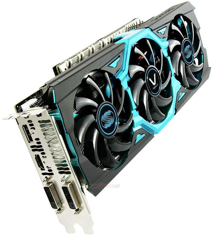 Sapphire Radeon Vapor-X R9 290X 4GB GDDR5 TRI-X OC PCI-E 3.0 x 16 Video Card