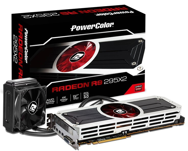 PowerColor Announces its Radeon R9 295X2 Graphics Card | TechPowerUp