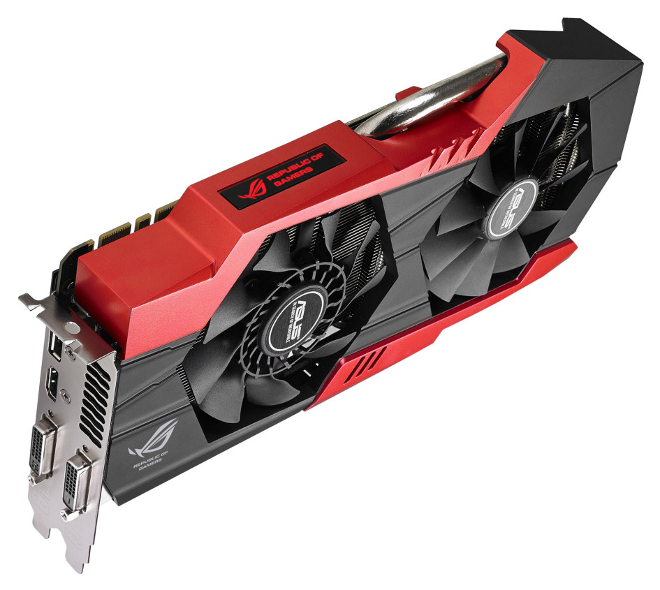 Asus Announces The Striker Gtx 760 Platinum 4gb Graphics Card Ti Sporting Rogs Signature Red And Black Livery Color Coded Rog Led Load Indicator Delivers Superb Out Of Box Gaming