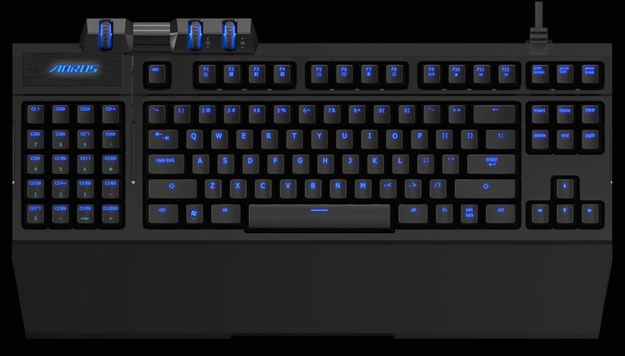 80fa9590e46 AORUS Unveils the THUNDER K7 Mechanical Keyboard and THUNDER M7 Laser Mouse