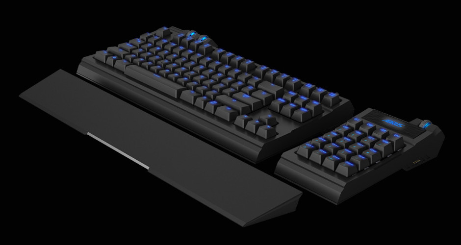 Aorus Unveils The Thunder K7 Mechanical Keyboard And