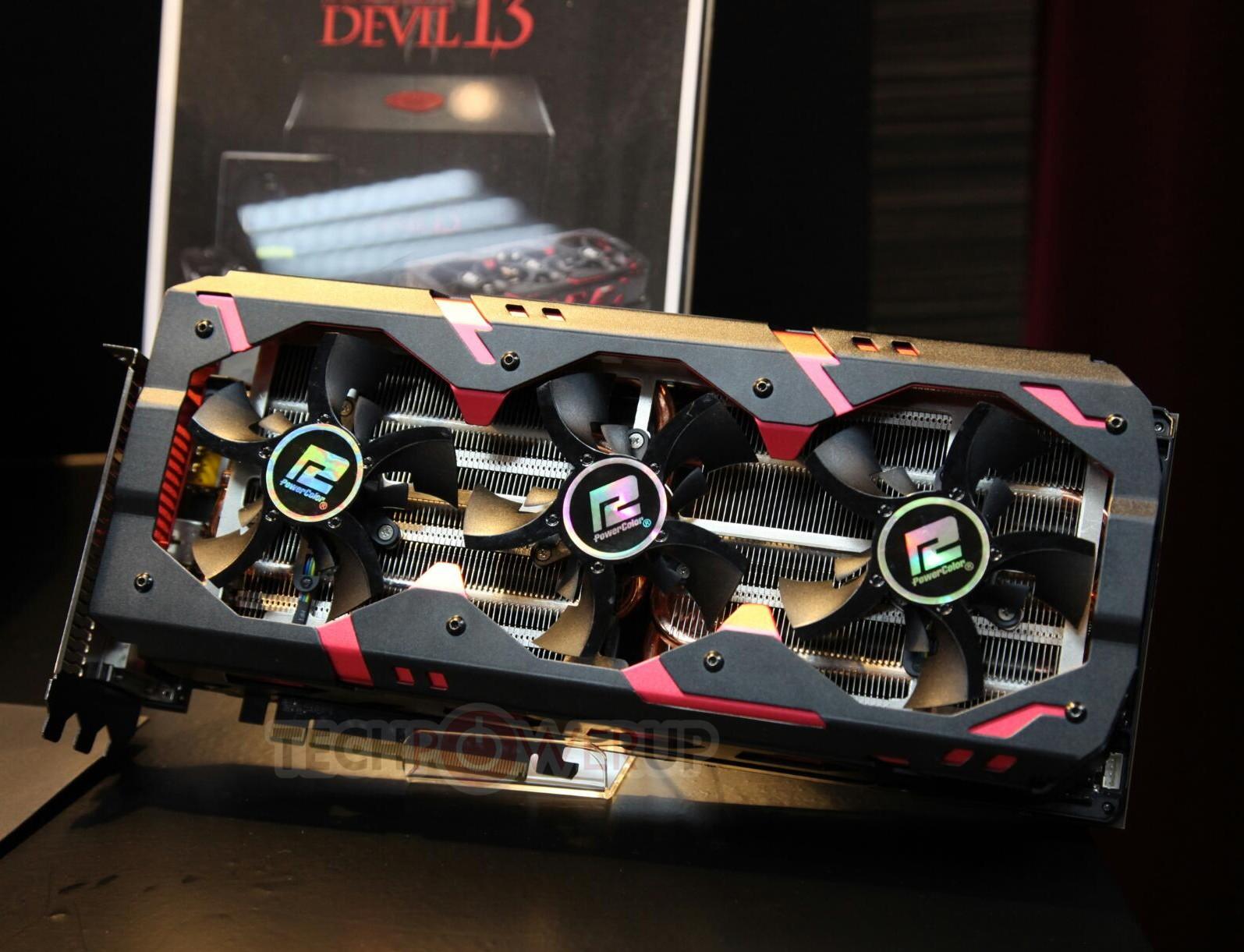 Techpowerup com] PowerColor Radeon R9 295X2 Devil13 Up Close