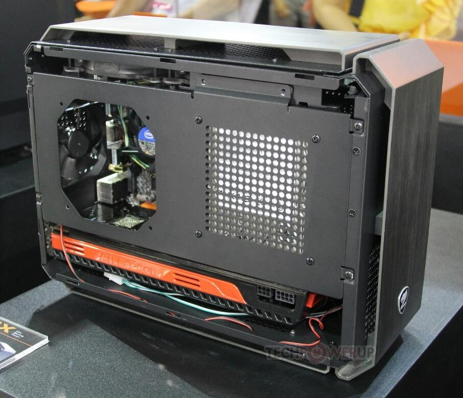 Cougar Qbx Mini Itx Tower Chassis Pictured Techpowerup