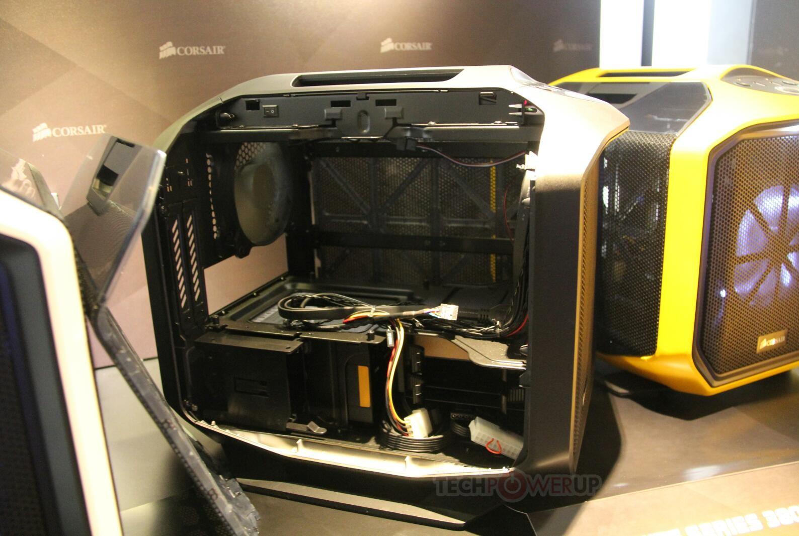 Corsair Shows Off Colorful Graphite 380t Mini Itx Cases