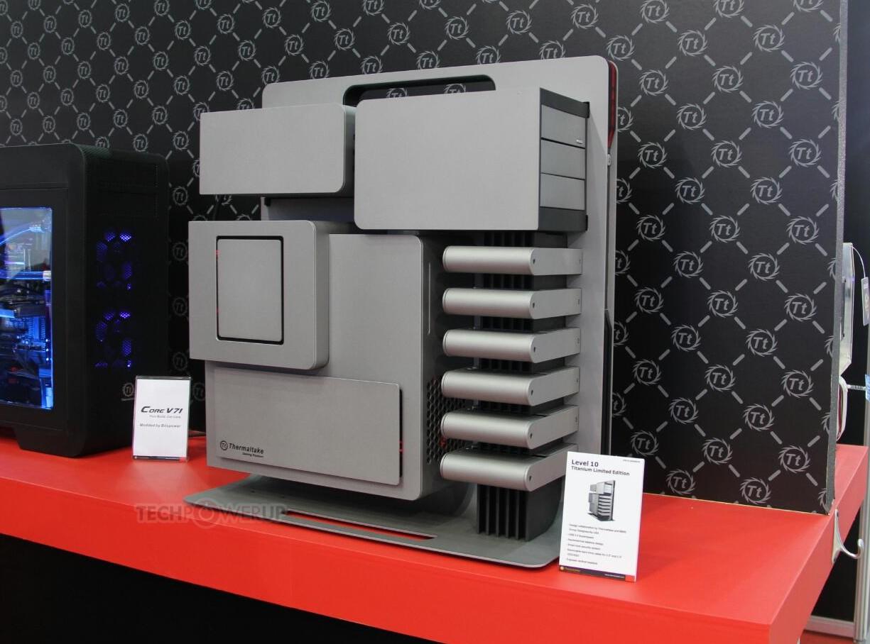 Thermaltake Level 10 Titanium Limited Edition Unveiled