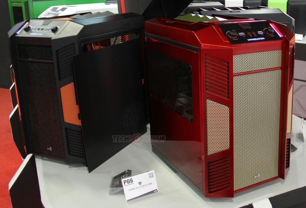 aerocool unveils xpredator cube in 5 color options techpowerup aerocool unveils xpredator cube in 5