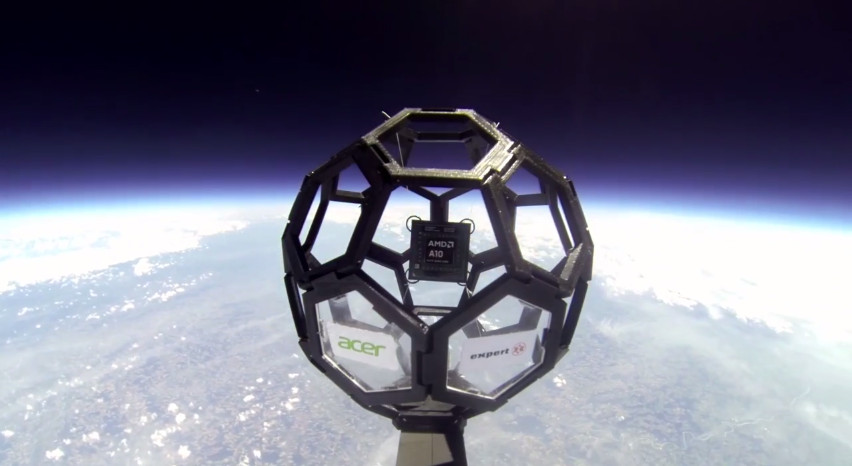 AMD Sends New Mobile APUs to the Edge of Space and Back ...