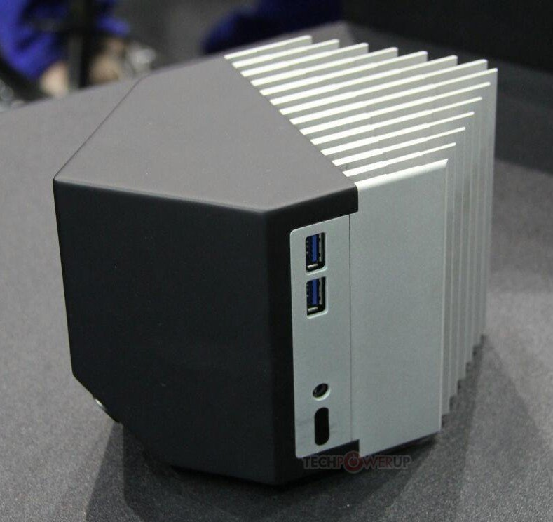 Streacom Also Shows Off Nc3 Hexagonal Fanless Nuc Chassis