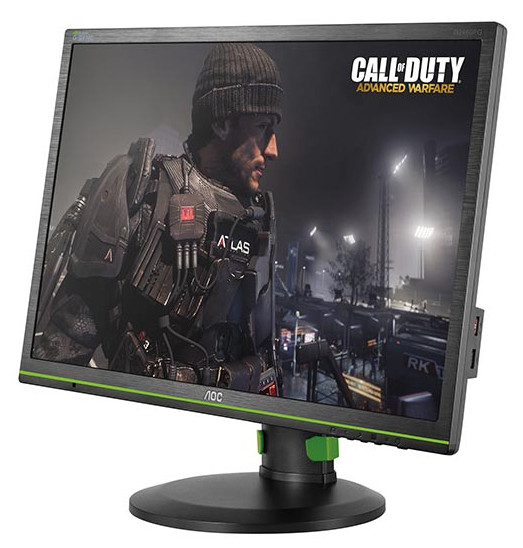AOC Speeds Up Gaming with the g2460Pg 24-Inch G-SYNC Monitor