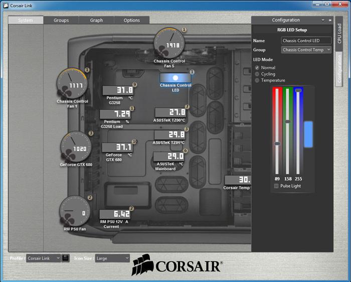 Corsair Announces The Link Commander Mini Techpowerup Forums