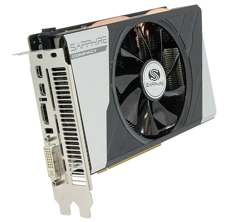 Sapphire Radeon R9 285 ITX Compact Edition Pictured
