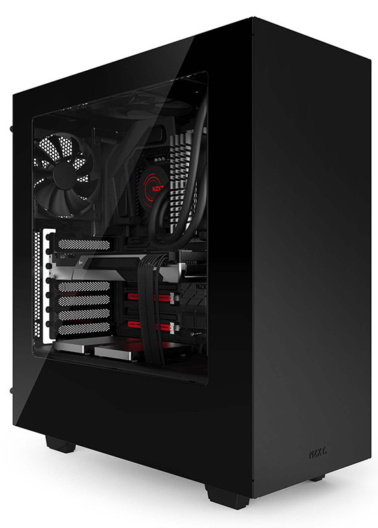 nzxt introduces its new source 340 case techpowerup. Black Bedroom Furniture Sets. Home Design Ideas