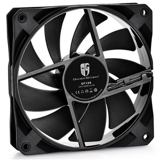Deepcool Launches The Gf120 Case Fan Techpowerup