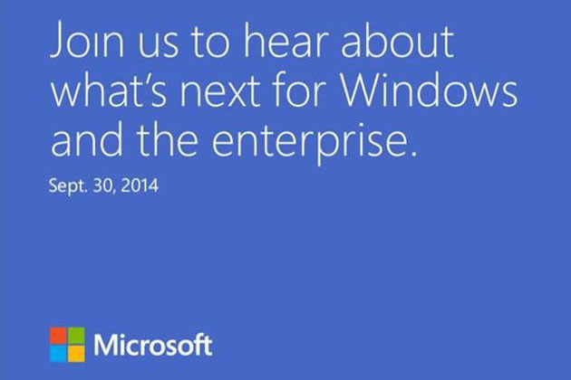 Microsoft to Hold a Big Windows Event in Late-September