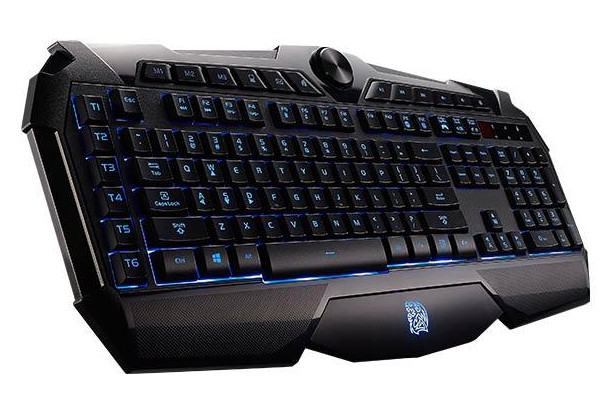 how to change the light on tt esports keyboard