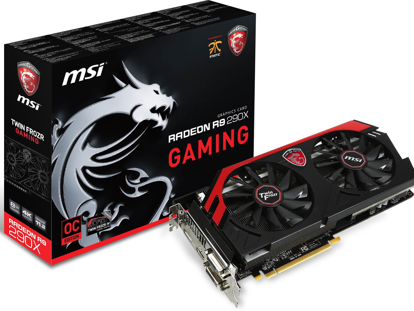 MSI Announces Radeon R9 290X Gaming 8GB Graphics Card techPowerUp rO7DiCu1