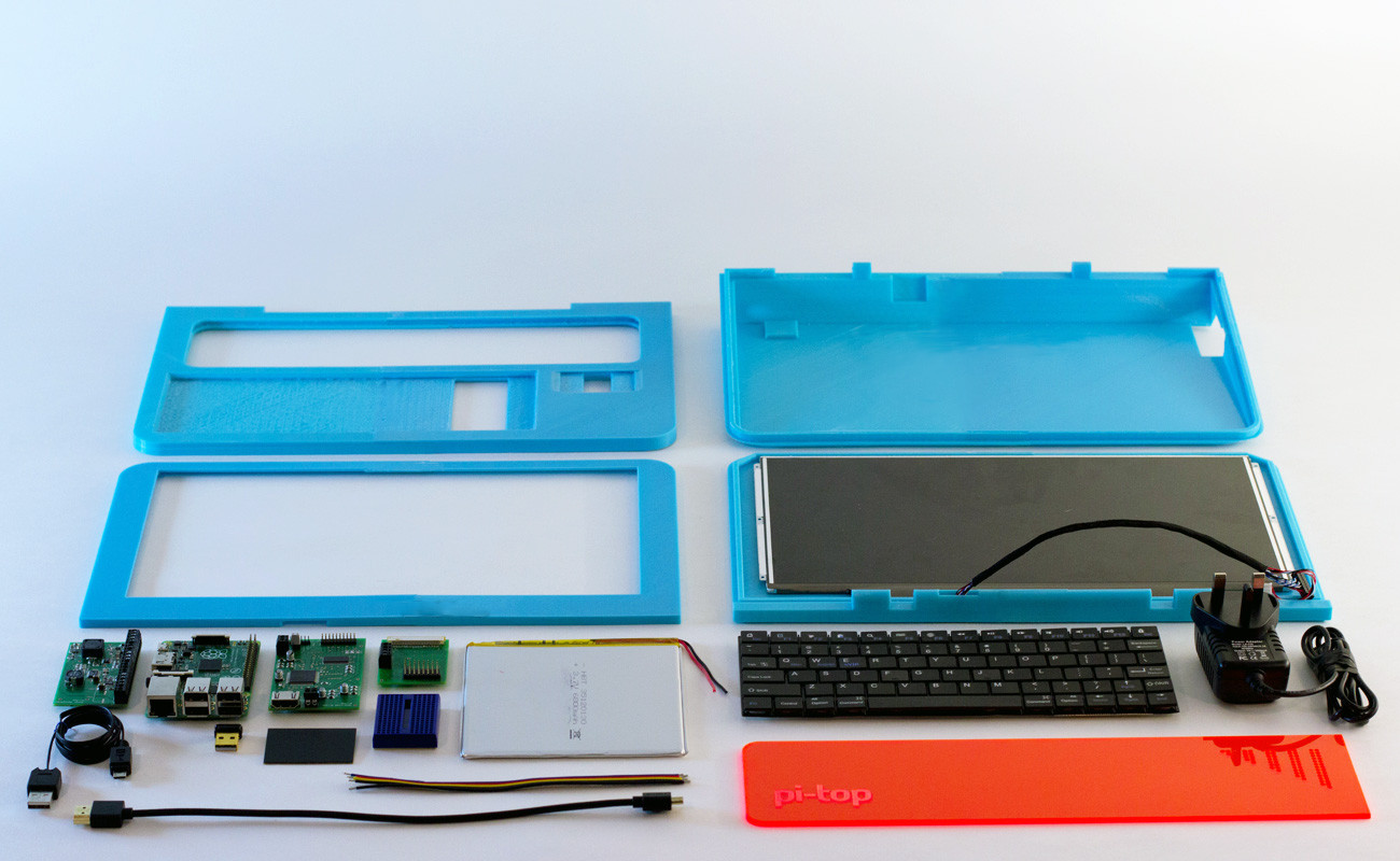 Meet Pi Top The First 3d Printed Diy Laptop Based On