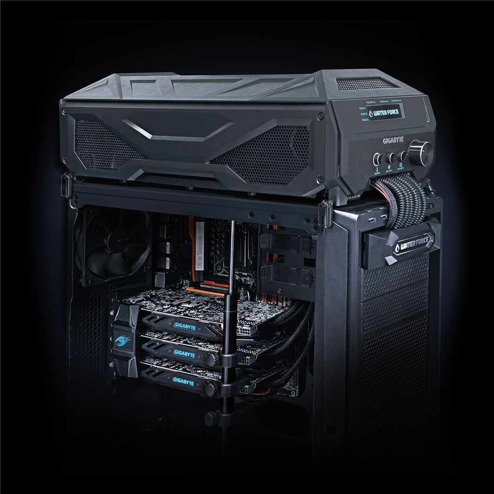 Gigabyte Presents Geforce Gtx 980 Waterforce Tri Sli Kit