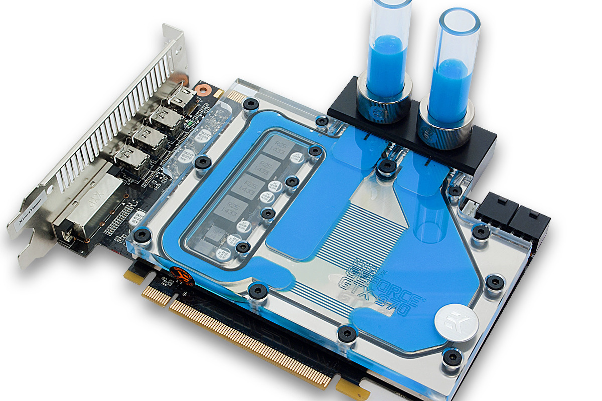 Ek Introduces Short Type Geforce Gtx 970 Water Block