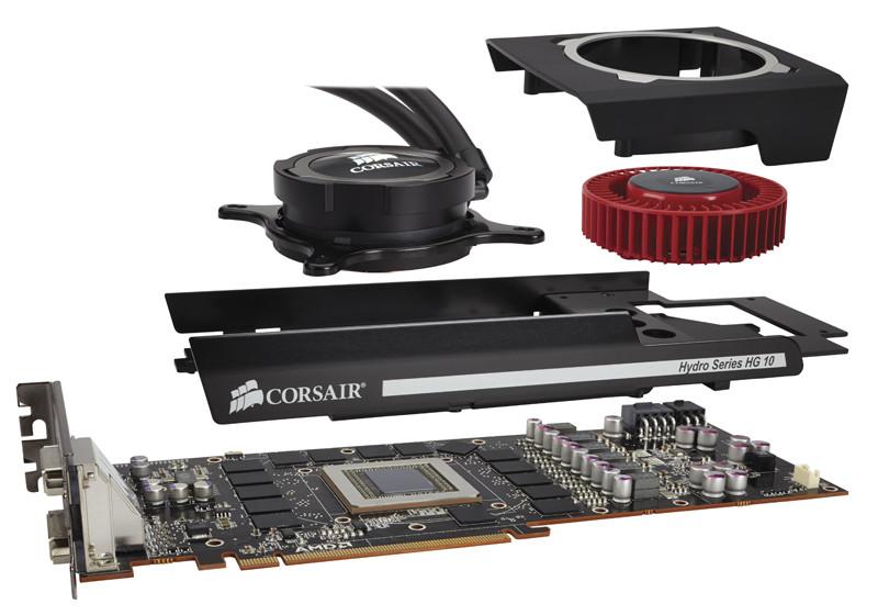 Corsair Releases Hydro Series Hg10 Gpu Liquid Cooling