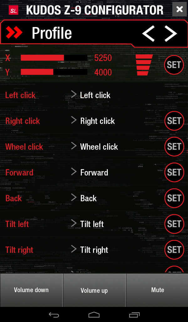 SPEEDLINK KUDOS Z-9 Laser PC Gaming Mouse 8200 DPI 9 Programmable Buttons