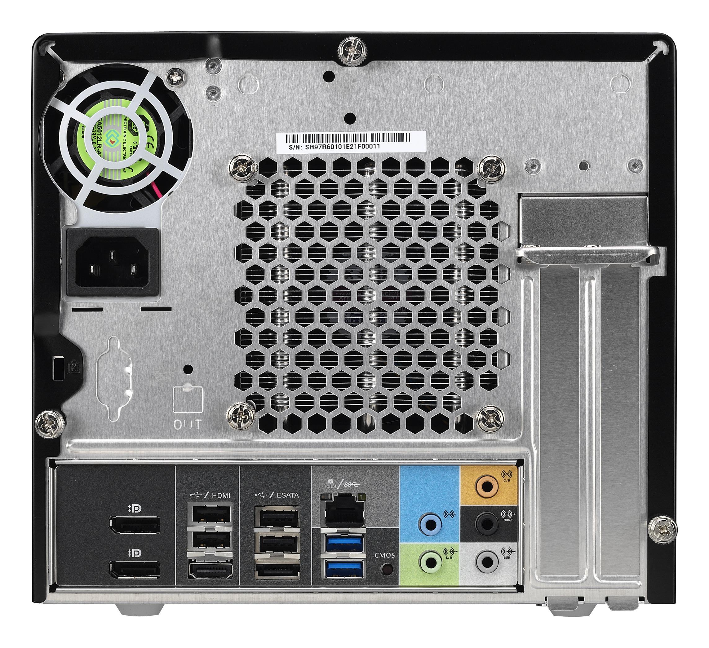 XPC Barebone SH97R6 connectique