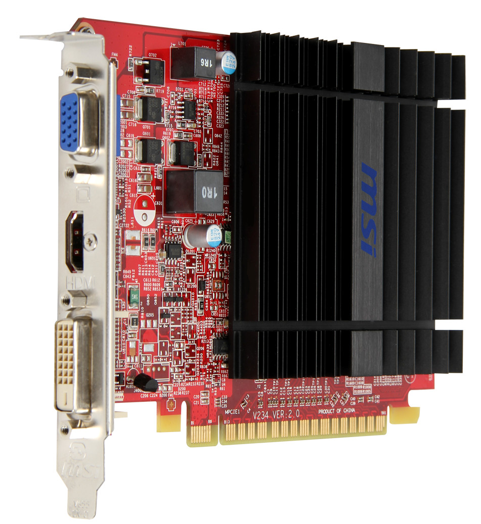 MSI Outs a Full-height Radeon R5 230 Graphics Card | TechPowerUp