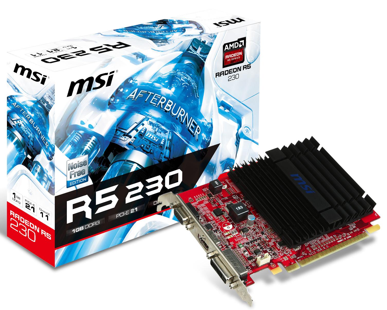 Radeon R5 230 (модель: R5230-1GD3H)