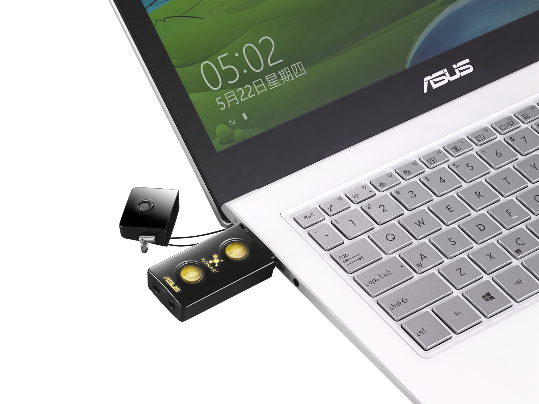 Asus Announces Xonar U3 Plus External Dac With Headphones Amp Earphone Headset Stereo Oem