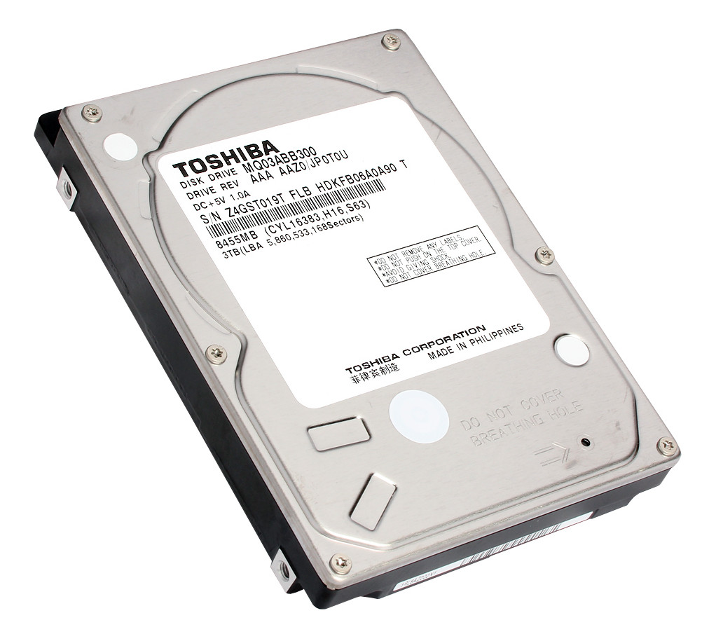 toshiba launches industry 39 s largest capacity 3tb 2 5 inch hdd techpowerup. Black Bedroom Furniture Sets. Home Design Ideas