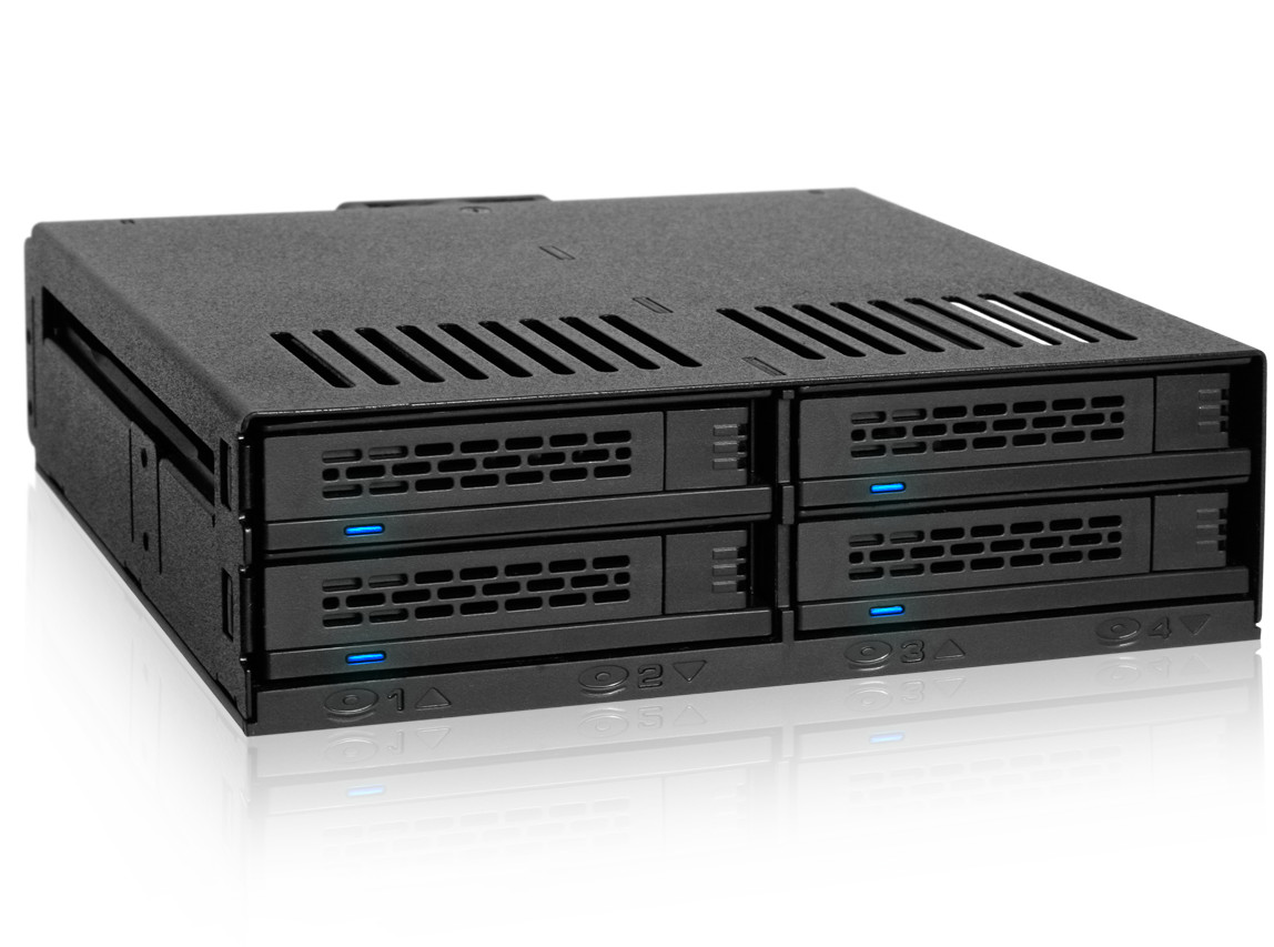 """Icy Dock ExpressCage MB322SP-B Drive Enclosure for 5.25/"""""""