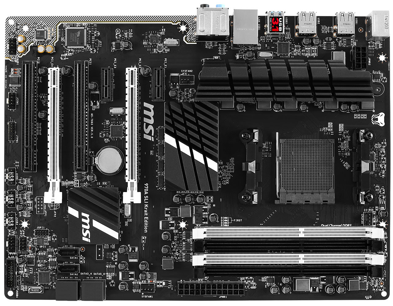 Best Mobo For Sli: MSI Announces First AMD Motherboard With USB 3.1, The 970A