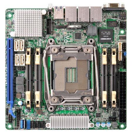 ASRock Develops Mini-ITX LGA2011v3 Motherboard with Quad ...