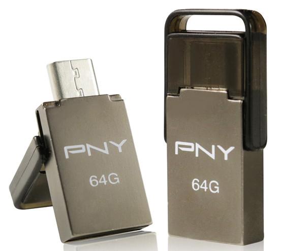 PNY Announces Duo-Link OU5 OTG Flash Drive | TechPowerUp
