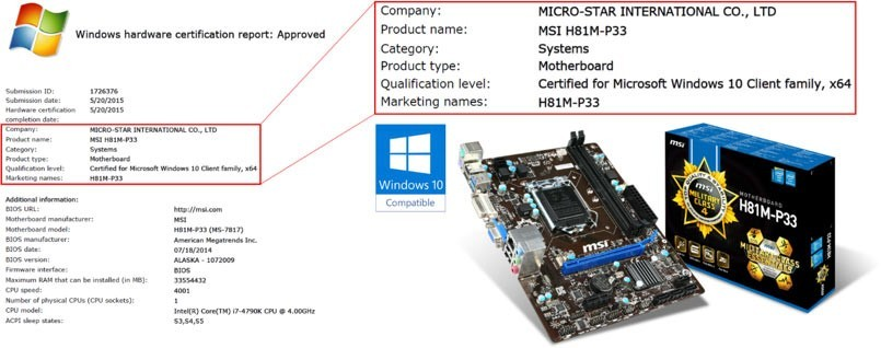 how to tell what motherboard i have windows 10