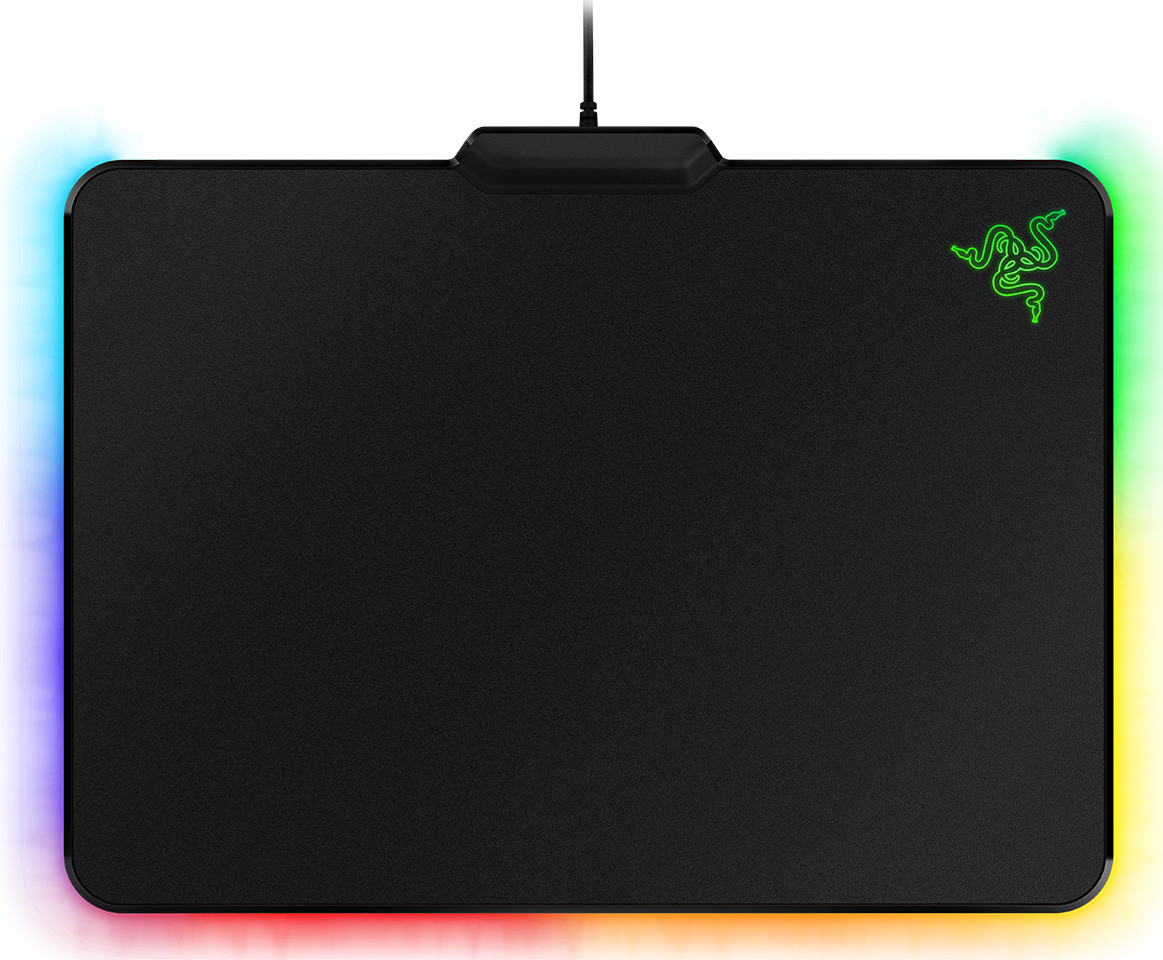 Razer Introduces The Firefly Gaming Mousepad With Customizable Naga Chroma Mouse Kode Mosx 14 Optimized Reflective Surface Ensures Movements Translate To Precise Cursor And Rapid In Game Responsiveness